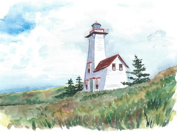 lighthouse_watercolour